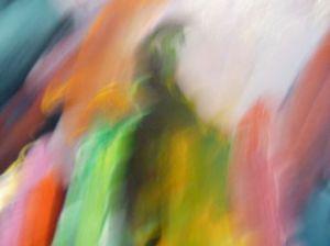 Camera Painting #1, 2010, Rachael Polson